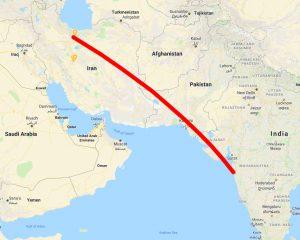 iran to india